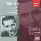 Grieg, Chopin: Piano Concertos, etc / Dinu Lipatti, et al