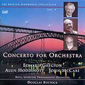 Gregson, Hoddinott, McCabe: Concertos for Orchestra /Bostock