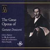 The Great Operas of Gaetano Donizetti - Elisir D'Amore, etc
