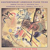Contemporary American Piano Trios Vol 1 / Francesco Trio
