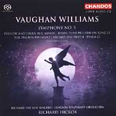 Vaughan Williams: Symphony no 5, etc / Hickox, Watson, et al