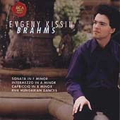Brahms: Sonata in F minor, Intermezzo, etc / Evgeny Kissin