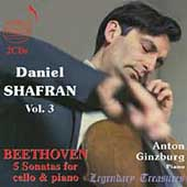 Daniel Shafran Vol 3 - Beethoven: 5 Cello Sonatas