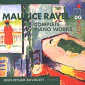 SCENE  Ravel: Complete Piano Works / Bavouzet