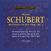 Schubert: Piano Masterpieces Vol 2 / Lili Kraus