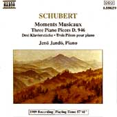 Schubert: Moments Musicaux, etc / Jenö Jandó