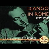 Django Reinhardt: Django in Rome 1949-1950 [Box]