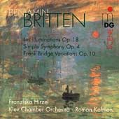 Britten: Les Illuminations, etc / Kofman, et al
