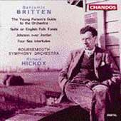 Britten: Young Person's Guide to the Orchestra / Hickox
