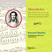 Romantic Piano Concerto Vol 36 - Moscheles / Shelley