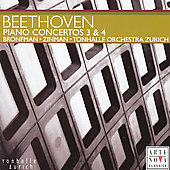 Beethoven: Piano Concerto no 3 & 4 / Bronfman, Zinman