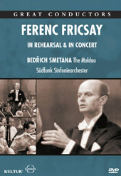 Ferenc Fricsay: In Rehearsal & Concert / Smetana [DVD]