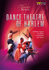 Elegance, The Art of Dance Theatre of Harlem - a selection of the company's most popular works - Gould: Fall River Legend; Downes: Troy Game; Hamilton: The Beloved; Rosenstock: John Henry [DVD]