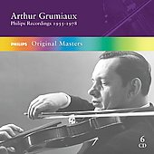 Arthur Grumiaux - Philips Recordings 1955-1978