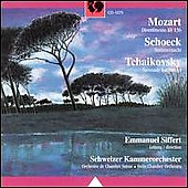 Mozart, Shoeck, Tchaikovsky / Emmanuel Siffert, Swiss CO