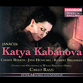Opera in English - Janacek: Katya Kabanova / Rizzi, et al