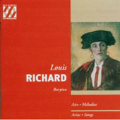 Arias, Songs / Louis Richard
