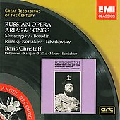 Russian Opera Arias & Songs / Christoff, et al