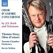 Telemann, Bach: Oboe d'amore Concertos  / Thomas Stacey, Kevin Mallon, Toronto SO