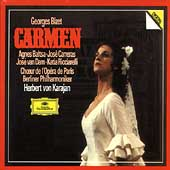 Bizet: Carmen / Karajan, Baltsa, Carreras, van Dam  et al