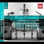 Beethoven: Symphonies no 1, 2, 3 & 8 / Sawallisch, Royal Concertgebouw Orchestra