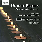 Durufl&eacute;: Requiem, Motets / Jeremy Backhouse , et al