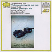 Bach: Violin Concertos nos 1 & 2;  Vivaldi / Oistrakh
