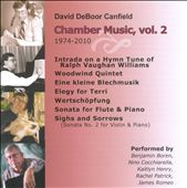 David DeBoor Canfield: Chamber Music, Vol. 2