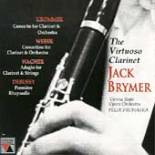 The Virtuoso Clarinet / Jack Brymer, Felix Prohaska