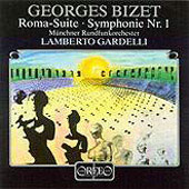 Bizet: Roma, Symphony no 1 / Lamberto Gardelli, Munich RSO