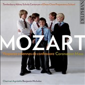 Mozart: Vesperae solennes de confessore; Coronation Mass / Kilsby, Kenyon, Watson, Borrett