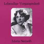 Lebendige Vergangenheit - Maria N&eacute;meth