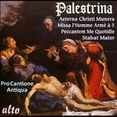 Palestrina: Stabat Mater; Missa Aeturna, Masses and Motets / Pro Cantione Antiqua