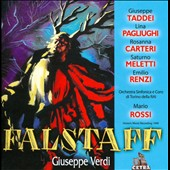 Verdi: Falstaff / Taddei, Pagliughi, Carteri, Meletti, Renzi. Mario Rossi (1949)