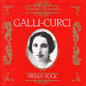 Prima Voce - Galli-Curci