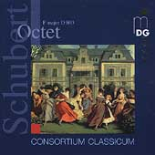 Schubert: Octet F major D 803 for clarinet, bassoon, horn & strings / Consortium Classicum
