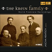 The Krein Family - Music of Alexander (1883-1951), Grigori (1879-1957), and Julian (1913-1996) Krein / Jascha Nemtsov, piano