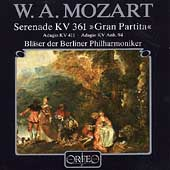 Mozart: Serenade KV 361, etc / Berlin Philharmonic Winds