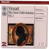 Mozart: The Great Violin Sonatas Vol 2 / Szeryng, Haebler