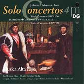 Bach: Solo Concertos Vol 4 / Kaiser, Musica Alta Ripa, et al
