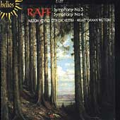 Raff: Symphonies no 3 & 4 / Hilary Wetton, Milton Keynes