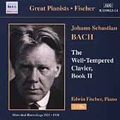 Great Pianists - Bach: Well-Tempered Clavier Book 2/ Fischer