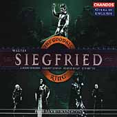 Opera in English - Wagner: Siegfried / Goodall, et al