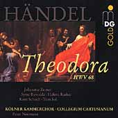 H&auml;ndel: Theodora / Neumann, Zomer, Collegium Cartusianum