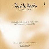Chesky: Psalms 4, 5 & 6 / Somary, Slovak Philharmonic