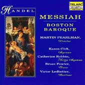 Handel: Messiah / Pearlman, Boston Baroque