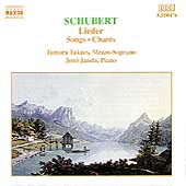 Schubert: Lieder / Tamara Tak&aacute;cs, J&eacute;n&ouml; Jand&oacute;