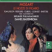 Mozart: Le Nozze di Figaro / Barenboim, Tomlinson, Rodgers