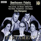 Beethoven: Fidelio / Klemperer, Jurinac, Vickers, et al