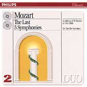 Mozart: The Last 5 Symphonies / Sir Neville Marriner